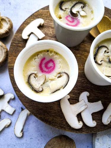 Shiitake mushroom chawanmushi