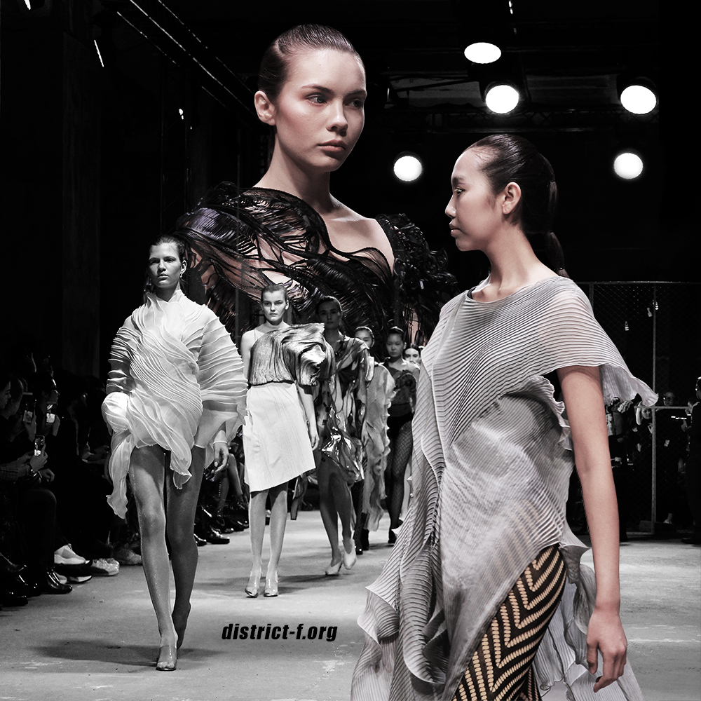 DISTRICT F — MBFW Russia, Futurum Moscow — HYPNOGRAPHIC AW19 два