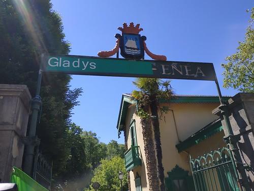 Gladys del Estali omenaldia 2019