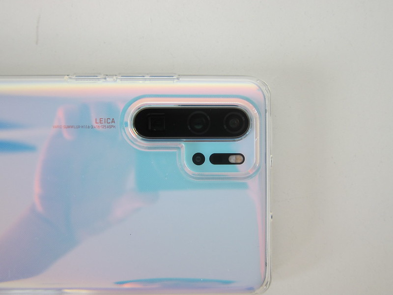 Spigen Huawei P30 Pro Liquid Crystal Case - Raised Edge - Camera