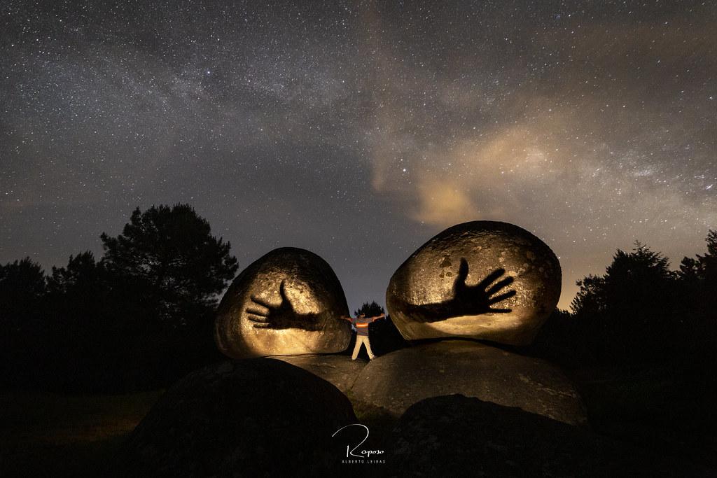 Sombras en Penas de rodas - Outeiro de Rei ( Lugo )