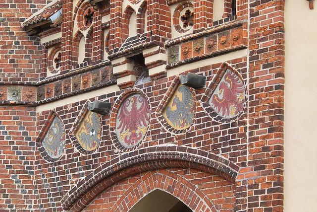Stadttor Wappen Adler
