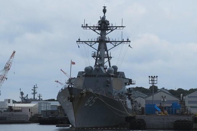 Aegis warship - USS McCampbell (DDG-85).
