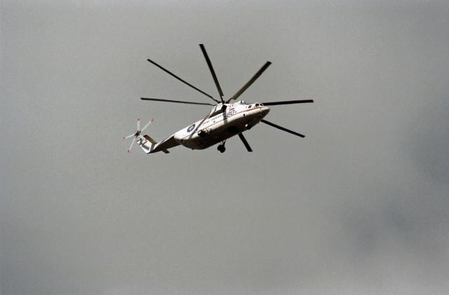 9. 1997 Berlin  MI-26 Lastenhubschrauber
