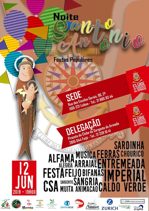 Cartaz St António 2019