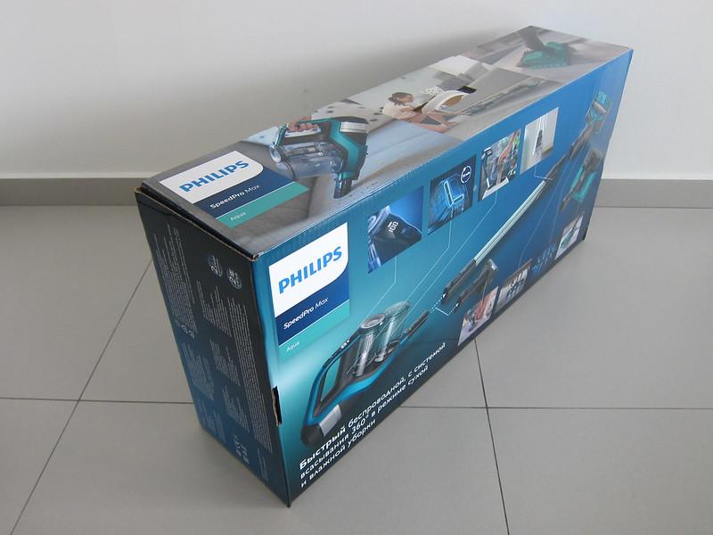 Philips SpeedPro Max Aqua - Box