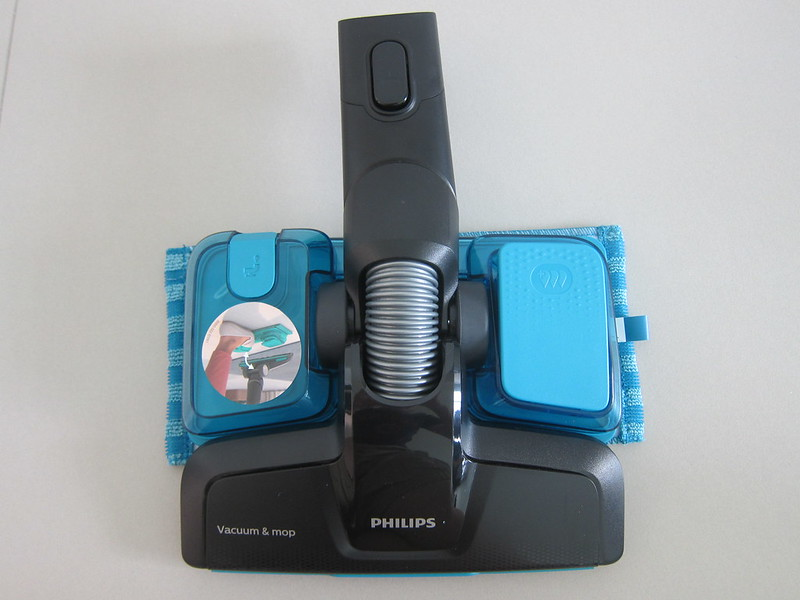 Philips SpeedPro Max Aqua - Vacuum And Mop Nozzle - Top