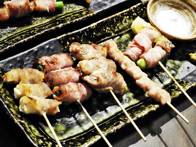 Assorted Grilled Pork Skewers