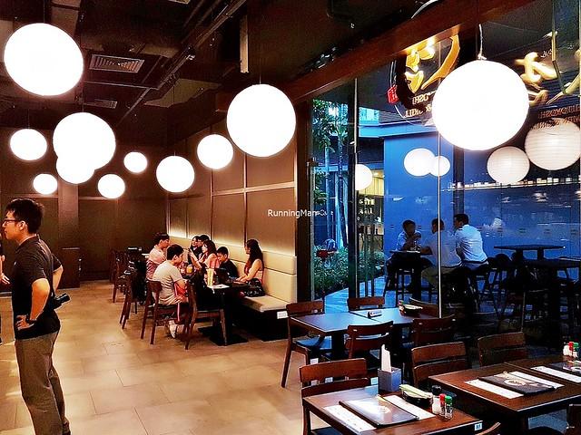 Hitoyoshi Ramen & Grill Interior