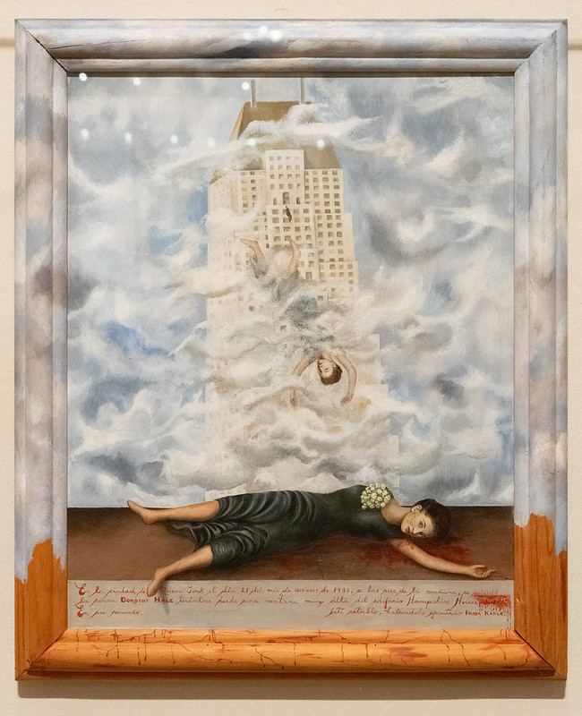 The Suicide of Dorothy Hale - Frida Kahlo 1939