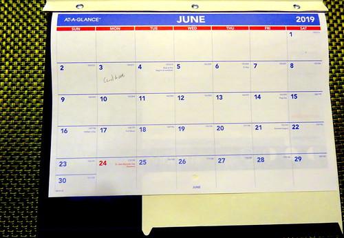 June 2019 Diary