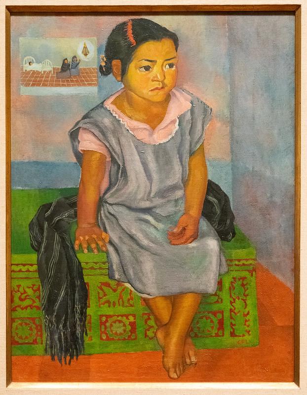 Girl - Gabriel Fernández Ledesma 1925