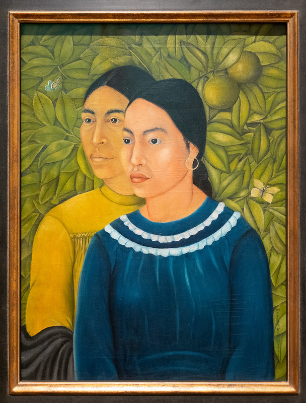 Two Women (Salvadora and Herminia) - Frida Kahlo 1928