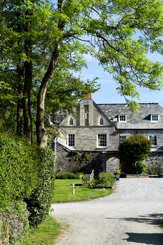 Staying at Trewornan Manor, Wadebridge