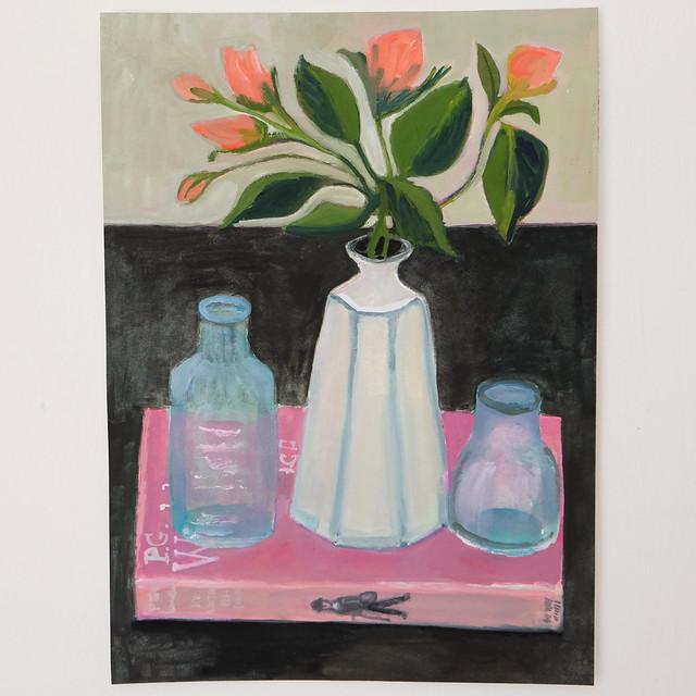 rosebuds and bottles