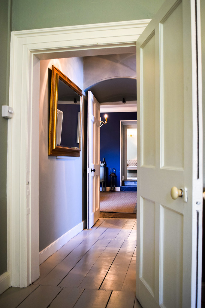 Hallway at Trewornan Manor, Wadebridge