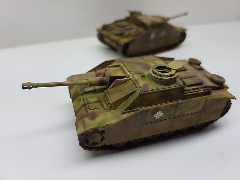Armourfast 1//72 German STUG IV sprue