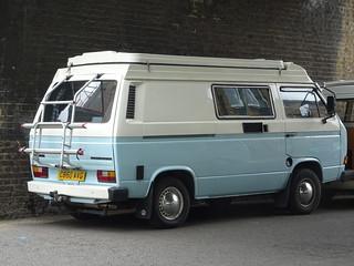 1986 Volkswagen Caravelle Transporter Camper Van