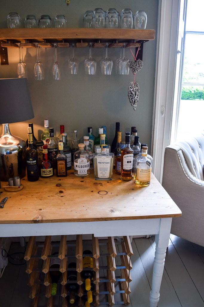 Honesty Bar at Trewornan Manor, Wadebridge