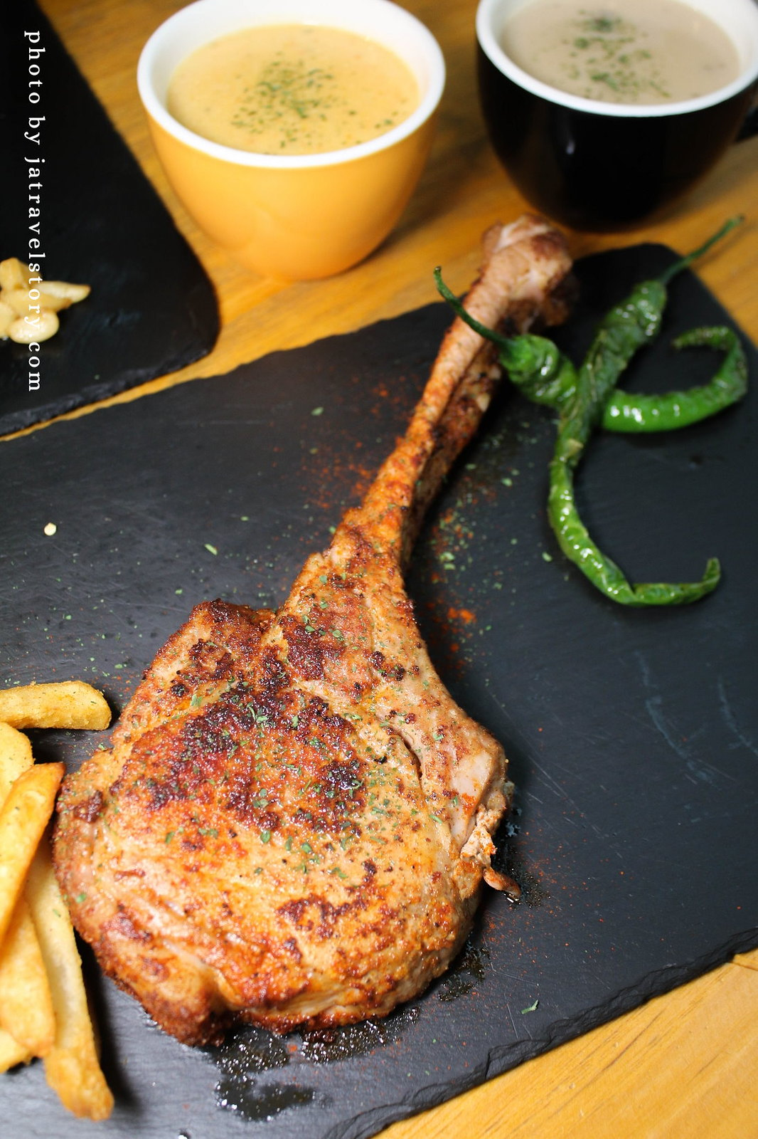 Mastro 戰斧教父 海鮮超澎湃的痛風海鮮燉飯,吃海鮮吃到厭世!中和牛排/中和聚餐餐廳【中和美食/板橋美食】 @J&A的旅行