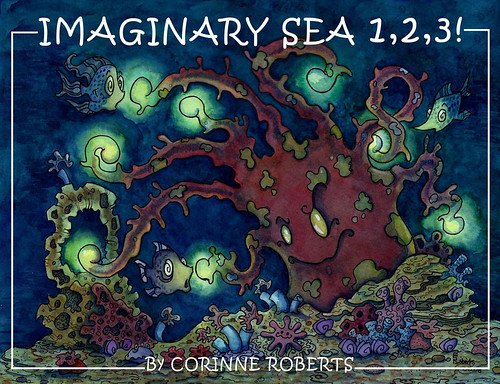 Imaginary Sea. From Artist of the Month: Corinne Roberts