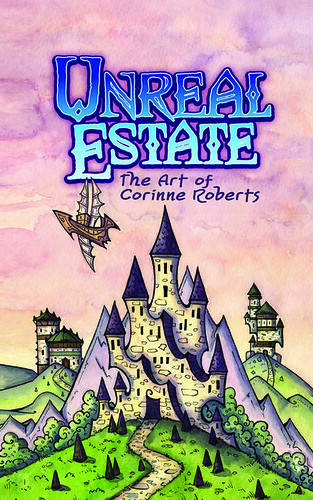 Unreal Estate - Cover. From Artist of the Month: Corinne Roberts