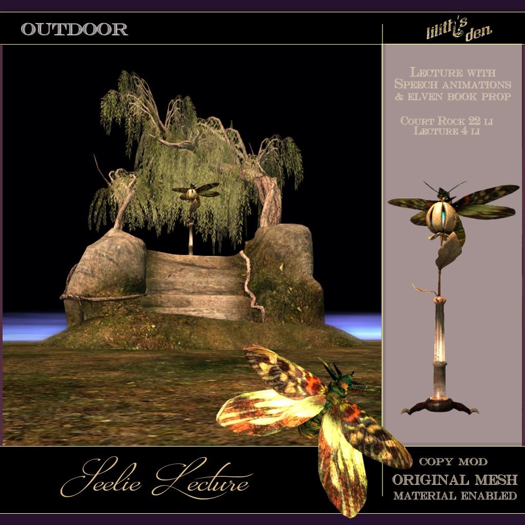 Lilith's Den – Seelie Lecture – Fairy Court Rock Scene