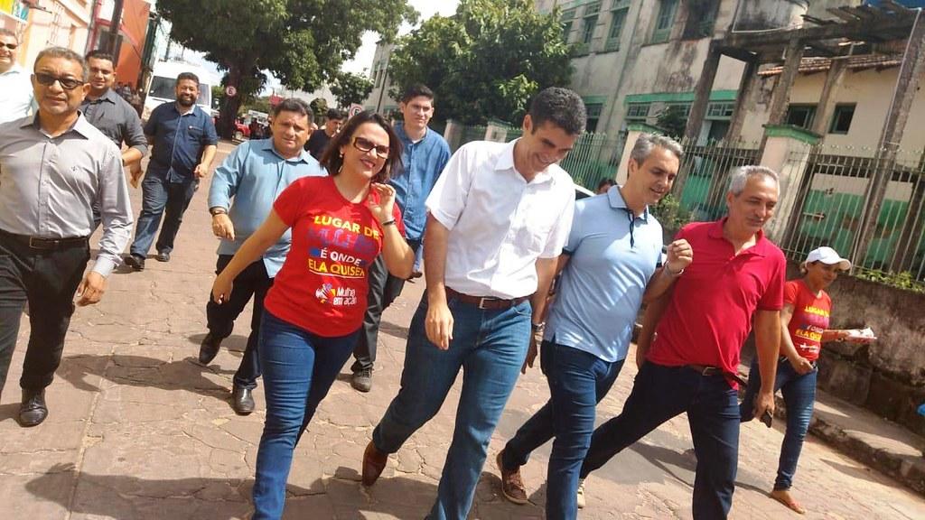 TJ do Pará reforma sentença, e absolve ex-prefeito de Óbidos por contratação de temporário , Jaime Silva com governador helder barbalho