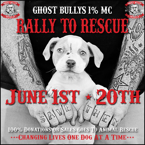 Rally To Rescue June 1st to 20th 2019