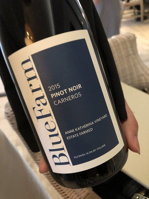 Blue Farm Pinot Noir, Anne Katherina Vineyard, 2015