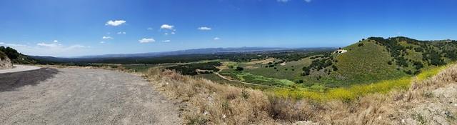 Lompov valley from Harris Grade Rd.