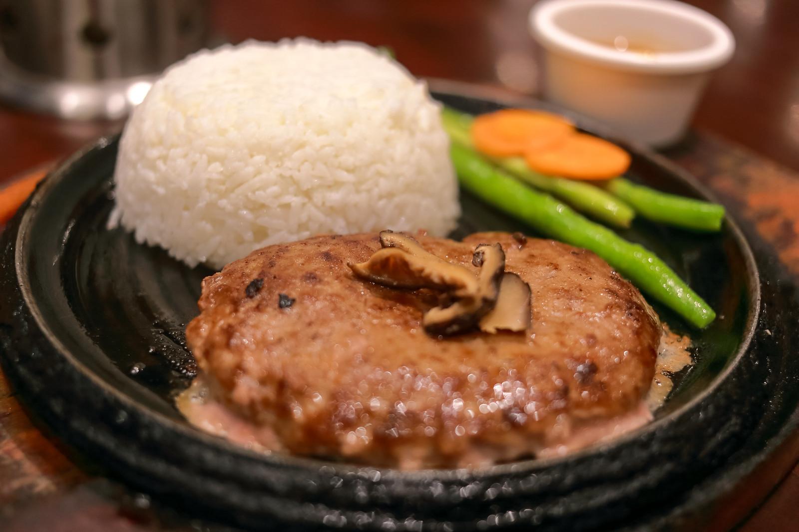 Sizzlin' Burger Steak