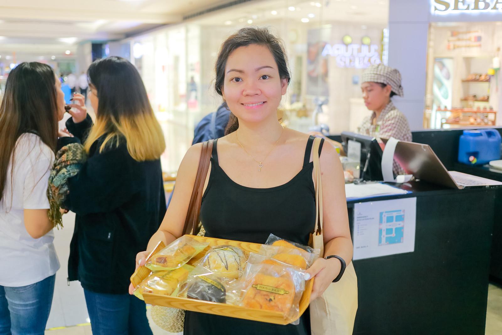 Hoarding Pastries at Tous Les Jours