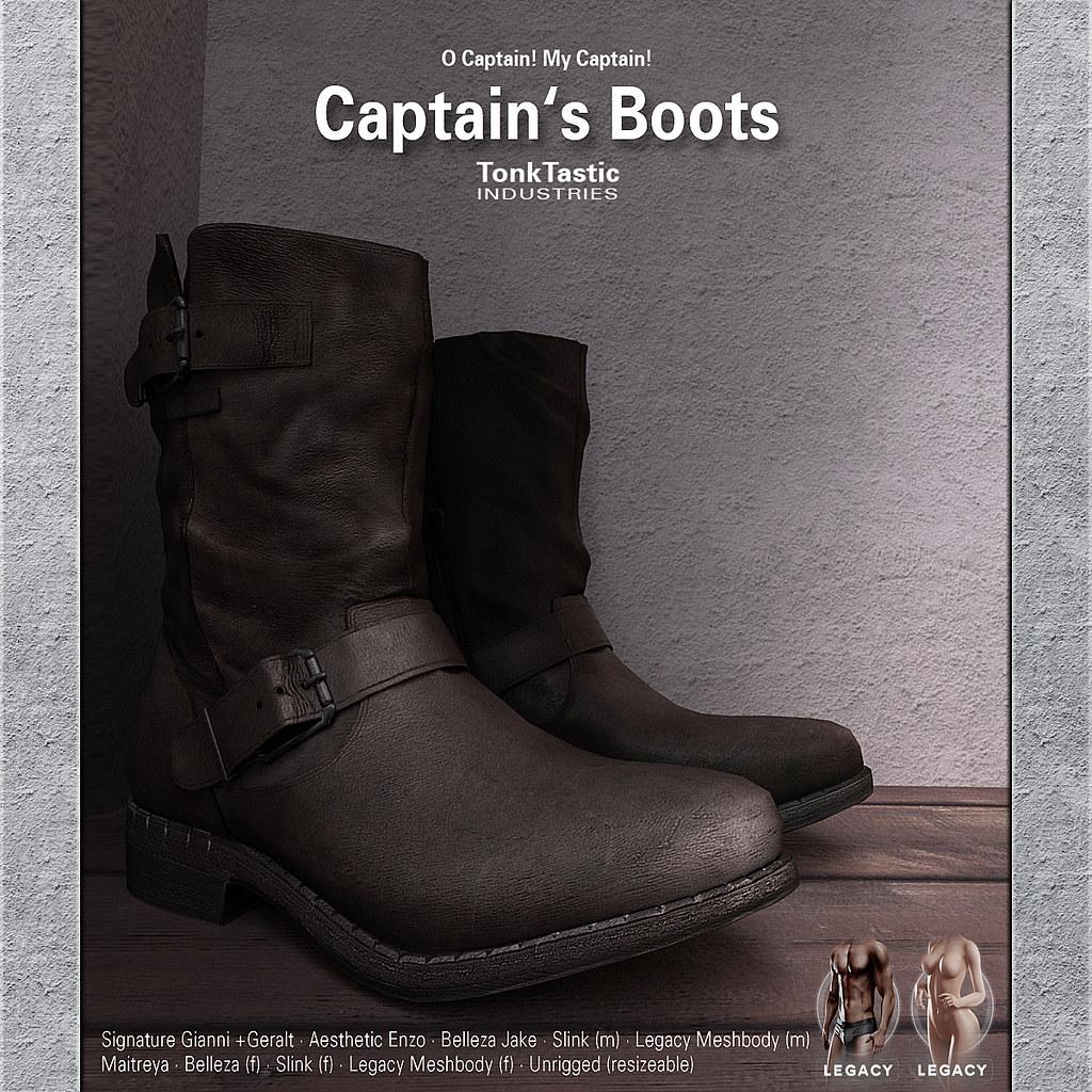 TonkTastic Captain's Boots