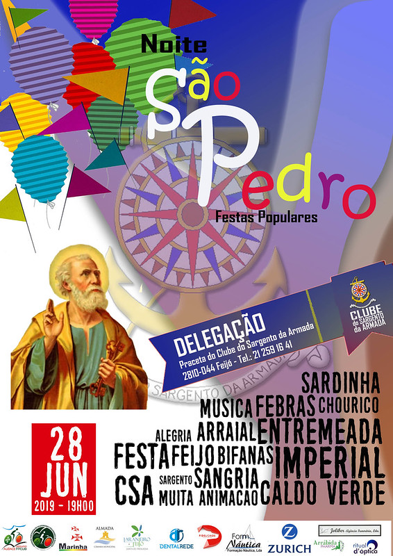 Cartaz São Pedro 2019