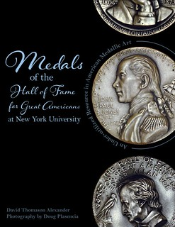 Medals of the Hall of Fame for Great Americans book cover