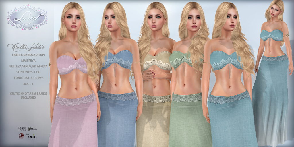 *Lurve* Celtic Sister Outfit – Phat Pack – Vendor Pic