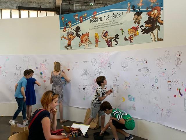 ateliers pédagogiques autour des éditions de la Gouttière