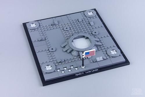 LEGO Creator Expert 10266 NASA Apollo 11 Lunar Lander Review-16 | by DoubleBrick.ru