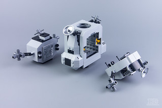 LEGO Creator Expert 10266 NASA Apollo 11 Lunar Lander Review-19 | by DoubleBrick.ru