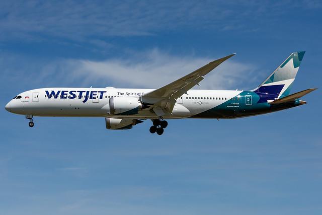 C-GUDH WestJet Boeing 787-9 London Gatwick