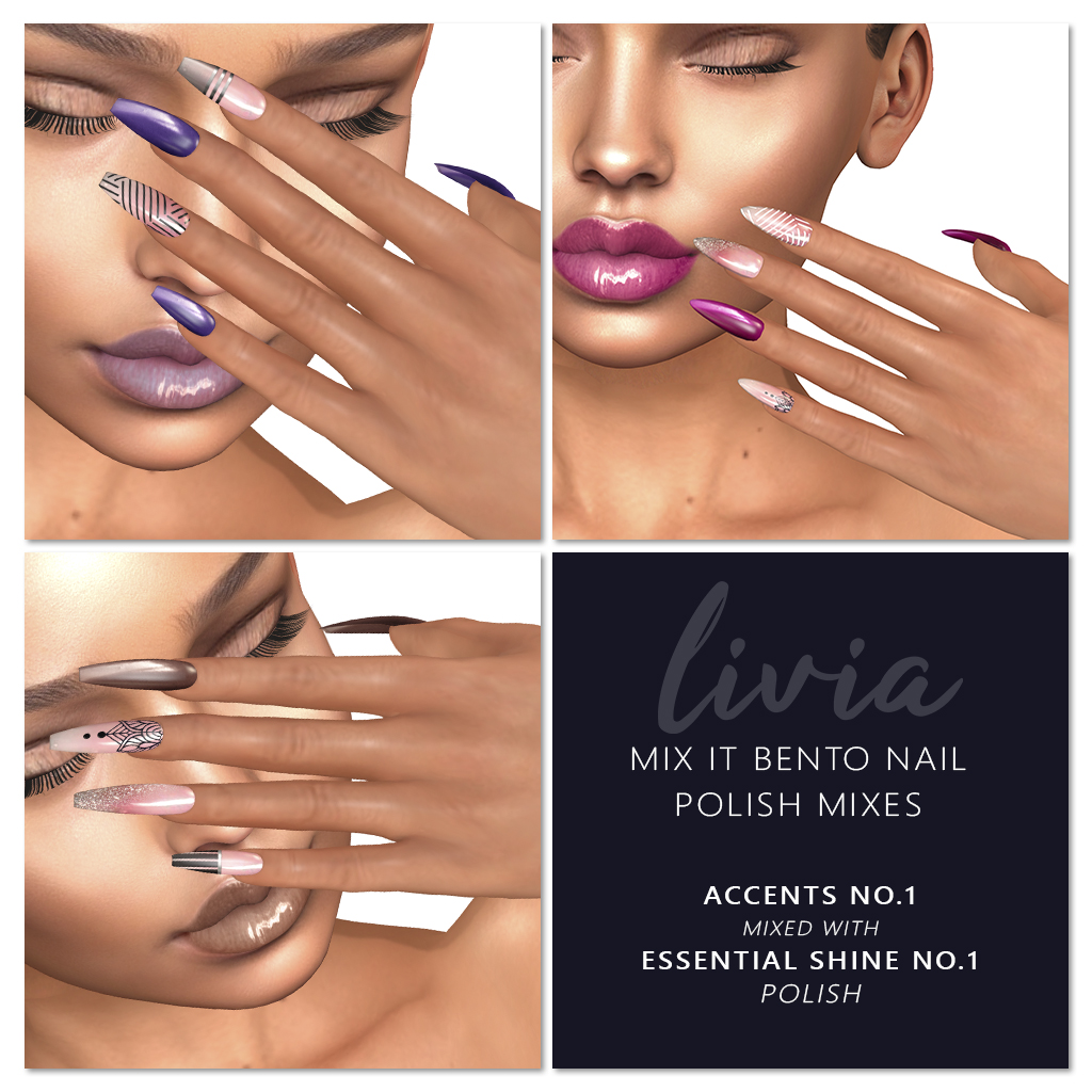 LIVIA // Mix It Polishes!