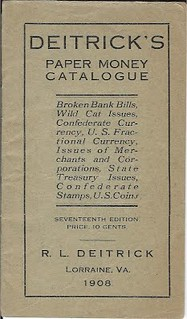 Deitrick, 1908 Paper Money Catalogue