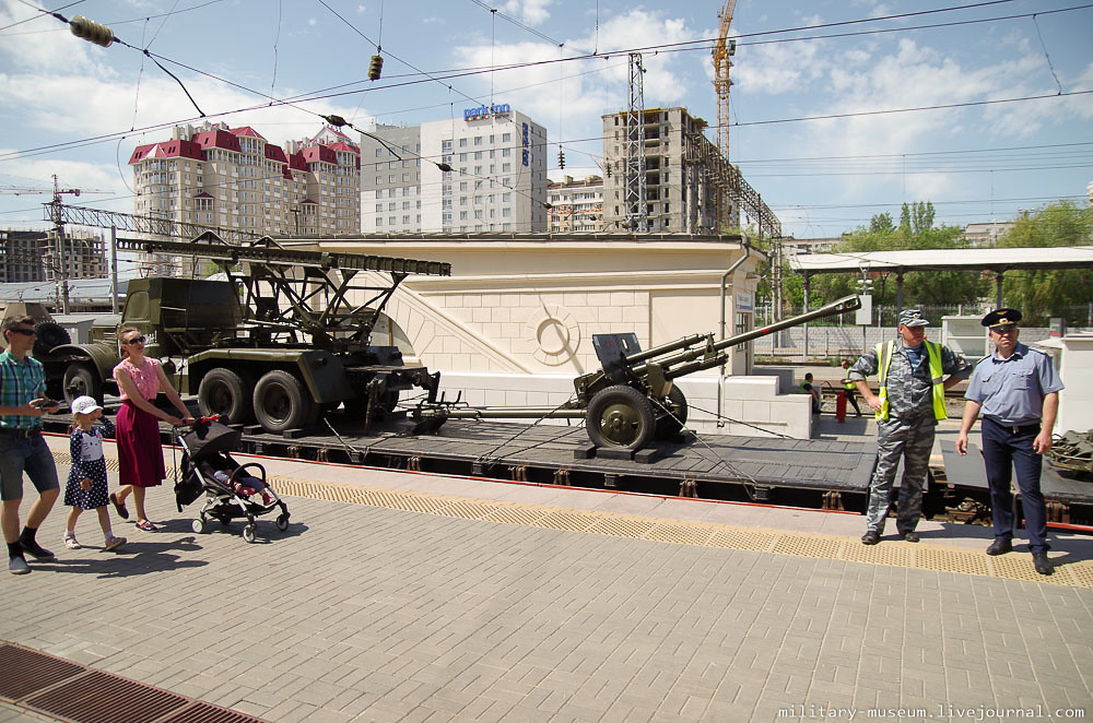 Эшелон Победы на вокзале в Волгограде -26