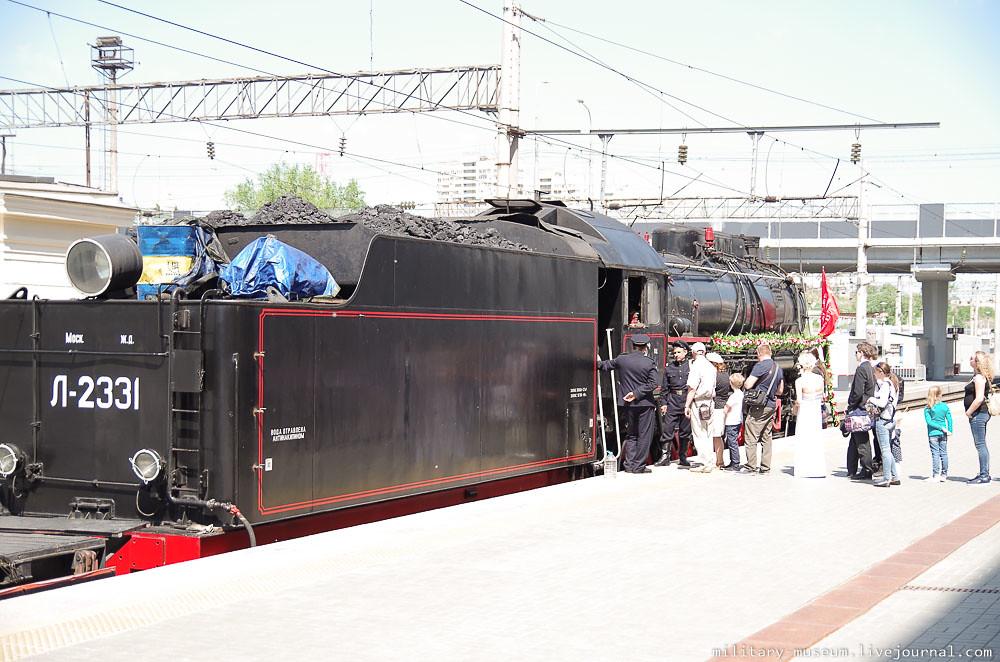 Эшелон Победы на вокзале в Волгограде -22