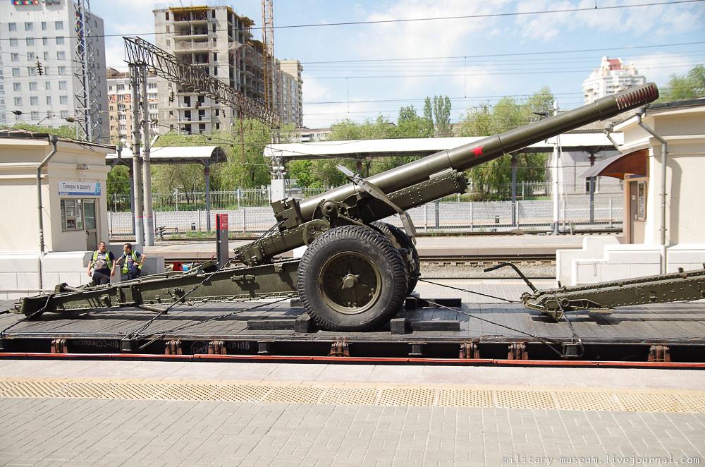 Эшелон Победы на вокзале в Волгограде -25