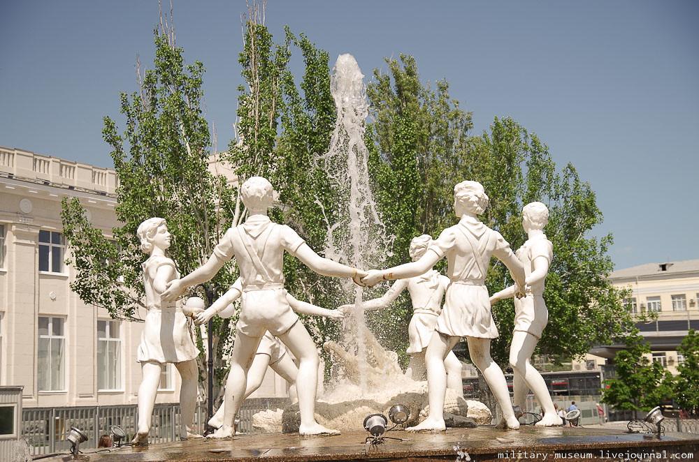 Эшелон Победы на вокзале в Волгограде -16