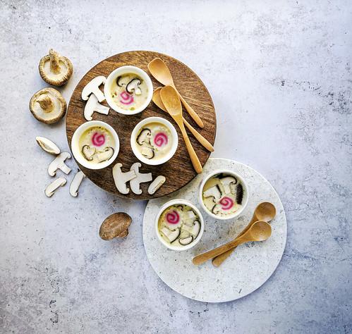 Chawanmushi - Japanese savoury egg custard | by michtsang