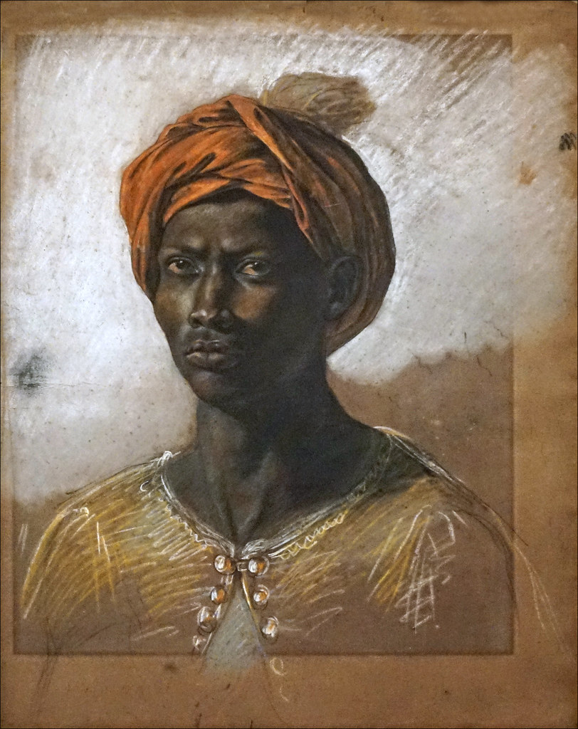 Jeune homme d'Eugène Delacroix (musée d'Orsay, Paris)