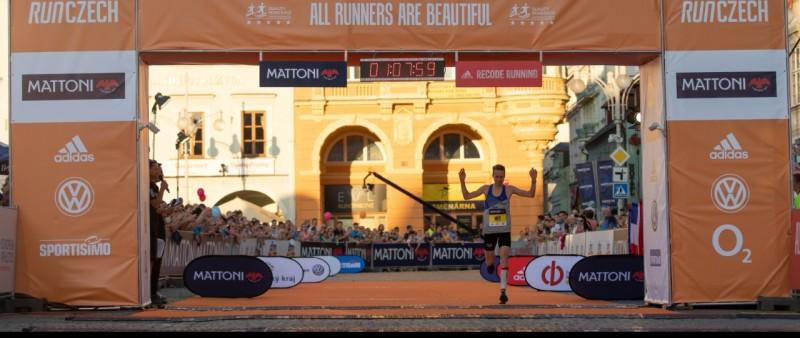 Po maratonu v Praze potvrdil Pavlišta formu i v Českých Budějovicích